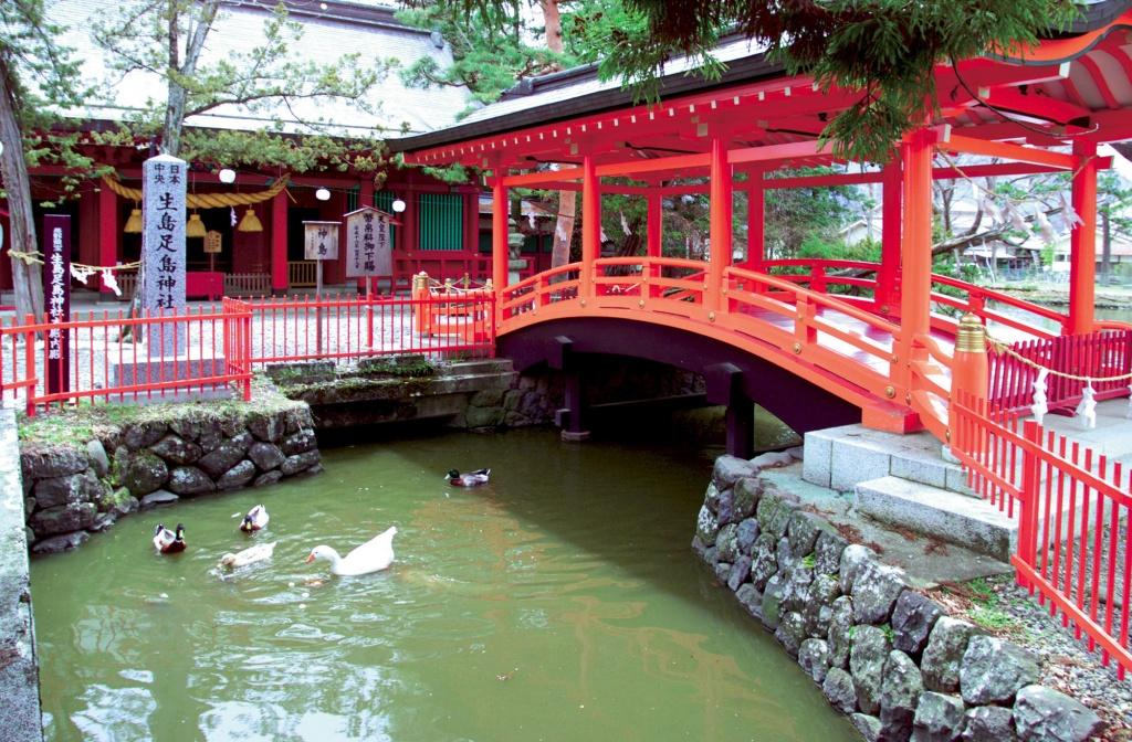 [No. 1874] 生島足島神社 (上田市)
