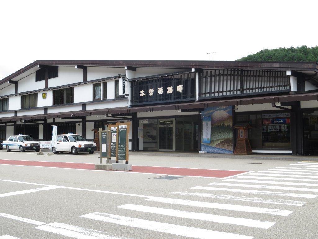 木曽福島駅①