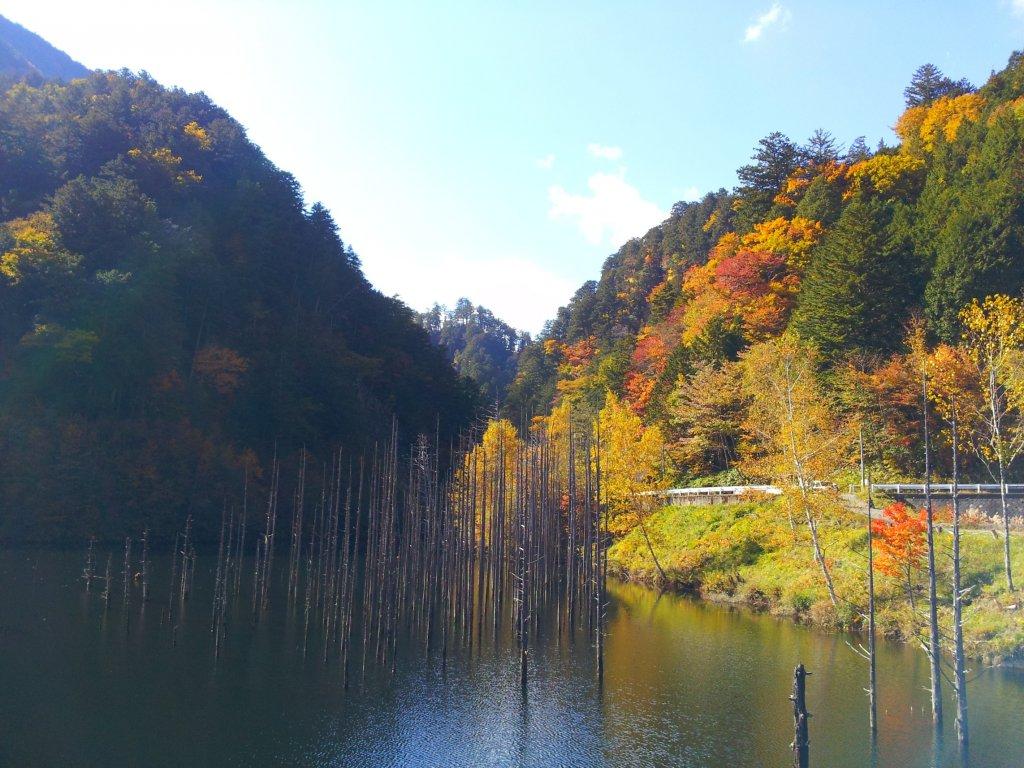 自然湖紅葉2