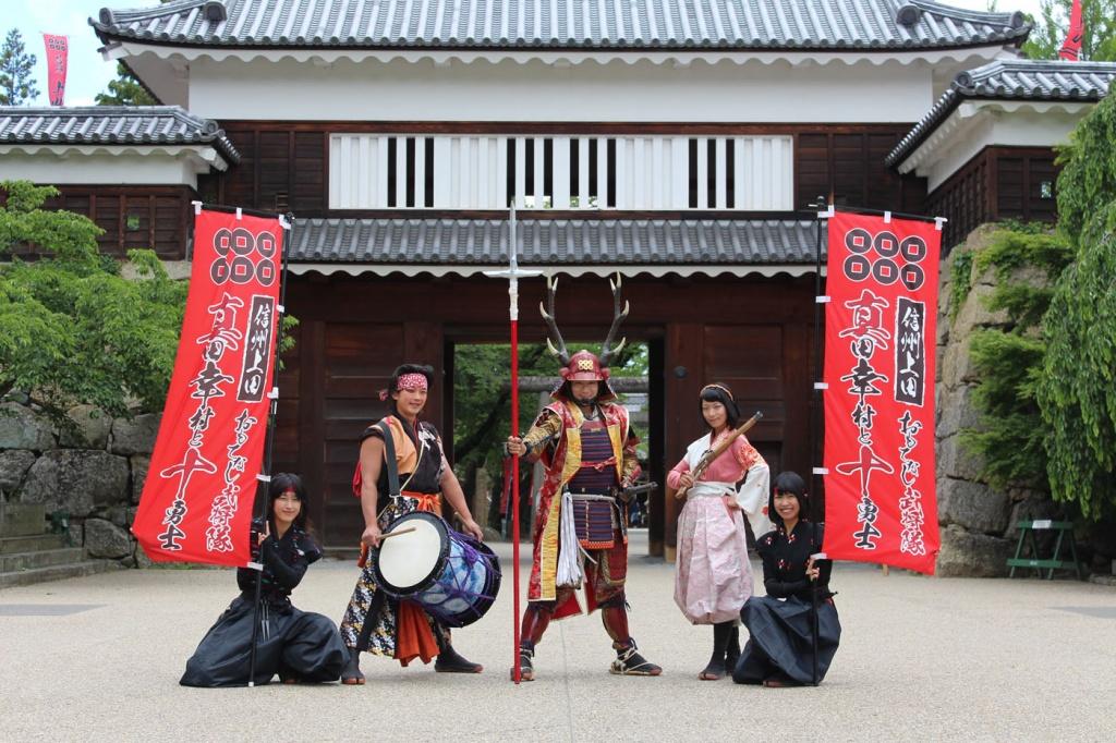 信州上田おもてなし武将隊のイメージ