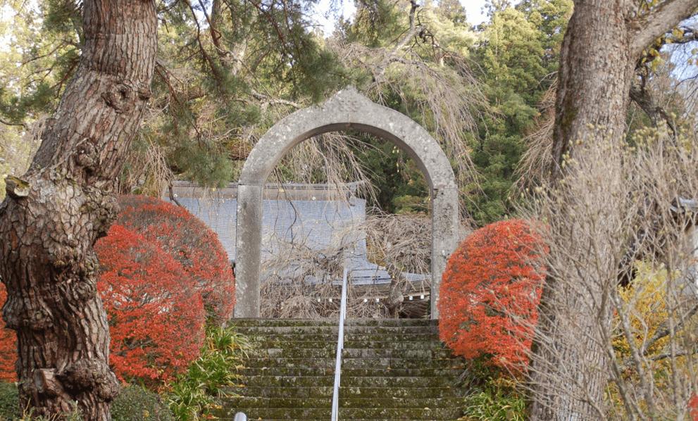 長谷寺の石門